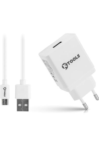 Ktools Life Quickcharge 3.0 18W Seyahat Şarjı ve Micro USB Kablo 1 mt