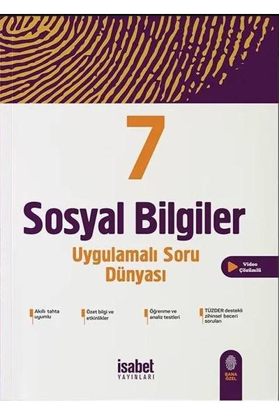 İsabet Yayınları 7. Sınıf Sosyal Bilgiler Uygulamalı Soru Dünyası