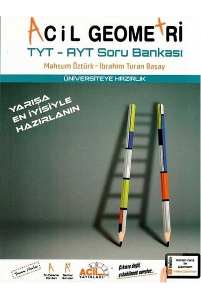 Acil Yayınları Tyt Ayt Acil Geometri Soru Bankası - İbrahim Turan Başay