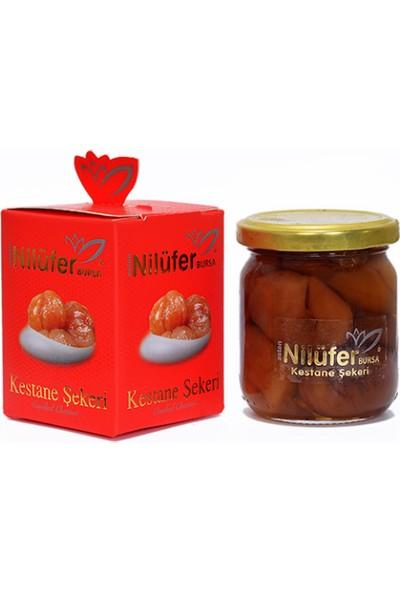 Nilüfer Kestane Şekeri Glikozsuz Cam Kavanoz 250 gr