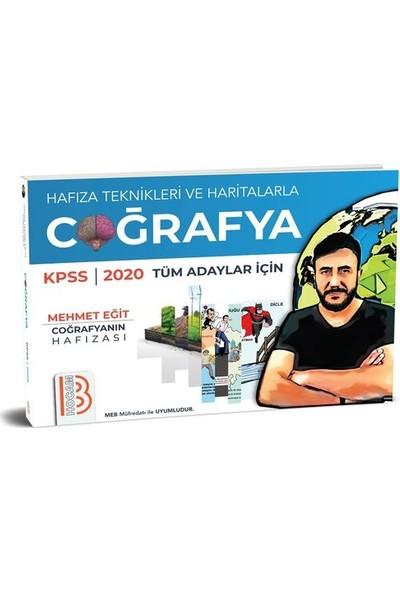 Benim Hocam Yayınları 2020 Kpss Tüm Adaylar İçin Haritalar Ve Hafıza Teknikleriyle Coğrafya - Mehmet Eğit