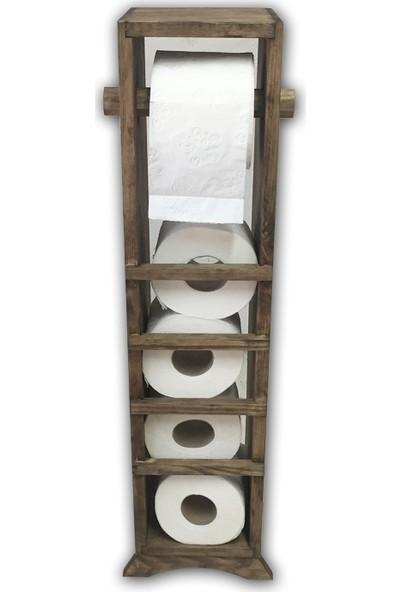 Zer Ahşap Wc Kağıtlık Tuvalet Kağıdı Askılığı