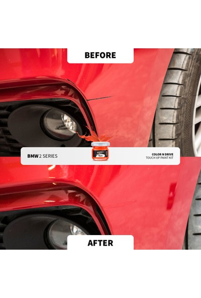 Color N Drive Porsche 718 Cayman, Boxter Renk Kodu : [ Mahogany Met M8Y ] - Color N Drive Taş Izi ve Çizik Rötüş Sistemi / Plus