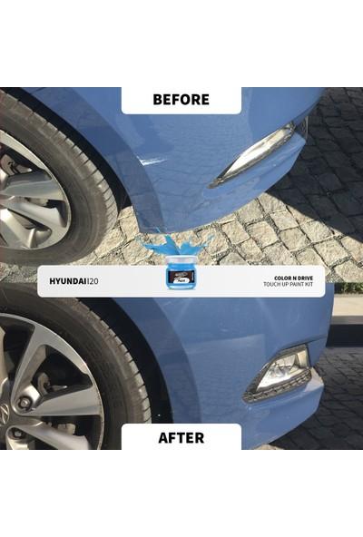 Color N Drive Peugeot 206 Renk Kodu: [ Duman Gri (9AM0) ] - Taş Izi ve Çizik Rötüş Sistemi / Plus