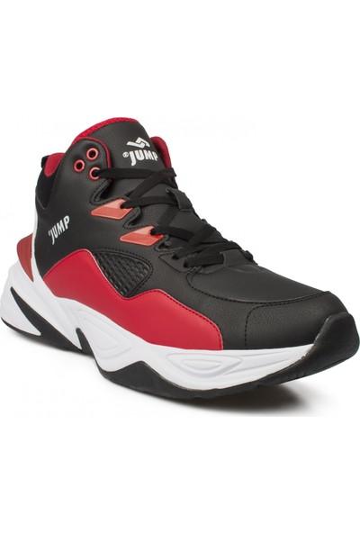 Jump 24052M Basketbol Siyah Erkek Ayakkabı