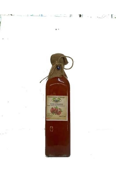 Memleket Çiftliği Doğal Fermente Ev Yapımı Nar Sirkesi 1 lt (Cam Şişe)
