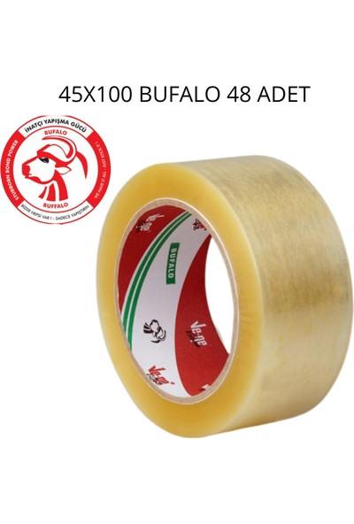 Vege Koli Bandı 45X100 Şeffaf (Bufalo) 48 Li