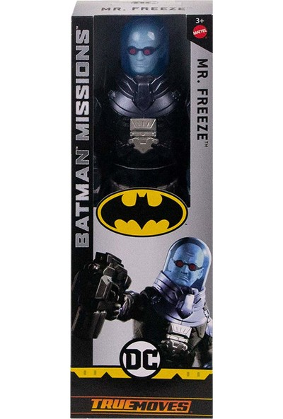 Mattel Batman Missions True-Moves Aksiyon Figür Mr. Freeze 30 cm