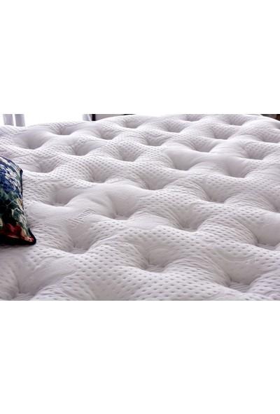 Serabed Cloud Full Ortopedik Yaylı ve Pedli Yatak (Yumuşak Tuşeli Özel Örme Kumaş) 160 x 200 cm