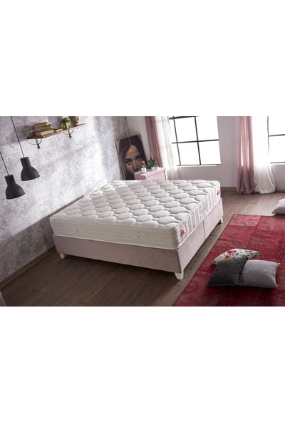 Serabed Modal Full Ortopedik Yaylı Ten Dostu Özel Kumaşlı Yatak 160 x 200 cm