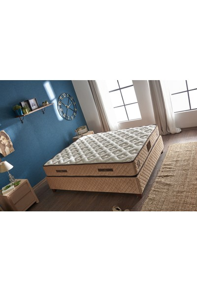 Serabed Organic Cotton Full Ortopedik Yaylı Yatak 160 x 200 cm