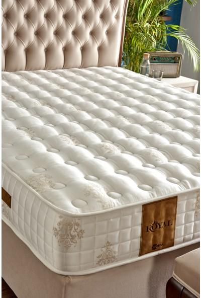 Serabed Royal Full Ortopedik Yaylı Yatak (Pamuk Saten Kumaşlı) 160 x 200 cm