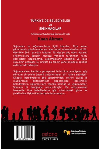 TÜRKİYE'DE BELEDİYELER VE SIĞINMACILAR