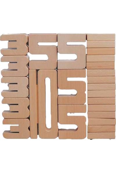Dikkat Atölyesi Dört İşlem Blokları Math Bloks