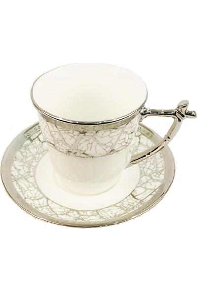 Paçi Porselen 6'kişilik Çay Fincanı