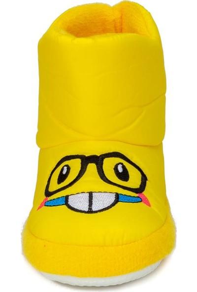 Doktor Sarı Unisex Çocuk Panduf Kreş Ayakkabısı