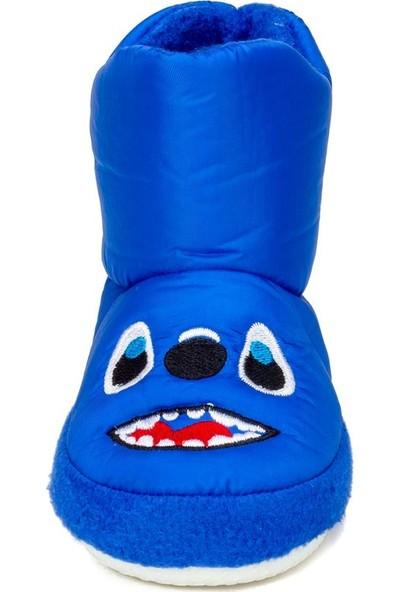 Doktor Mavi Unisex Çocuk Panduf Kreş Ayakkabısı