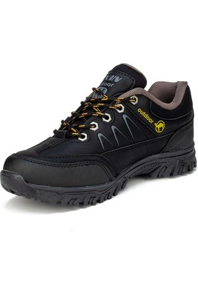 Texin Siyah Erkek Kışlık Günlük Ayakkabı