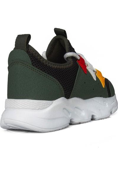 Star Haki Yeşil Erkek Çocuk Ayakkabı Sneaker