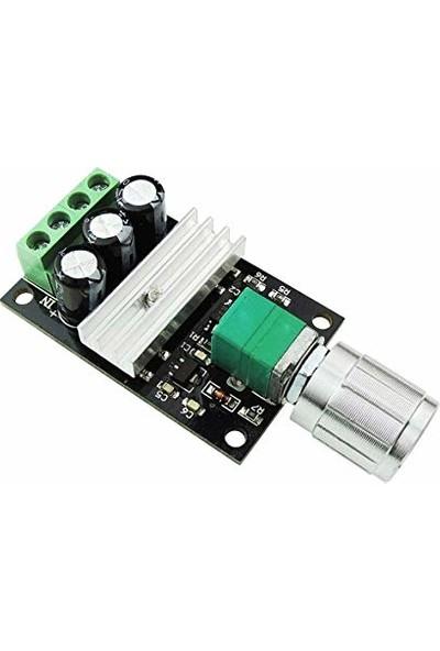 Bakay Motor Hız Kontrol Devresi 6V-12V-24V-28V 3A Anahtarlı