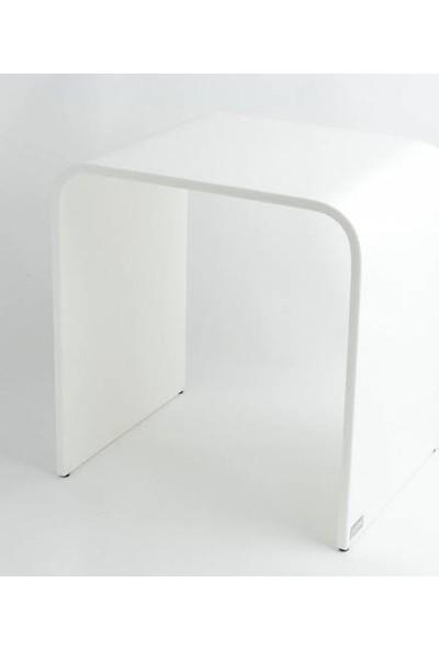 Hüppe Duş Oturağı Large Beyaz