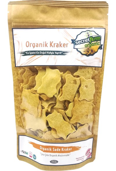 Secret Farm Organik Sade Kraker 100gr