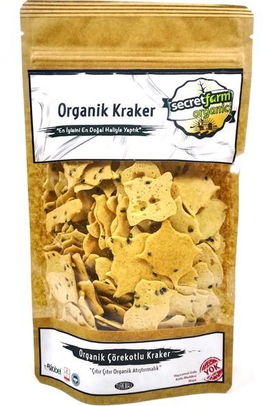 Secret Farm Organik Çörekotlu Kraker 100 gr