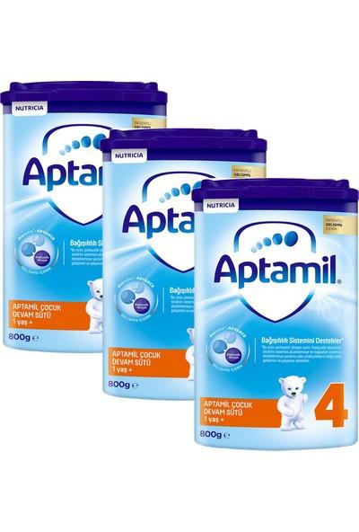 Aptamil 4 Çocuk Devam Sütü 800 gr 3'lü