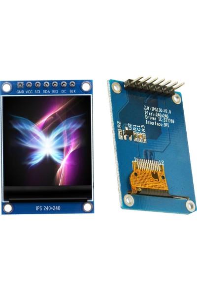 "Bakay SPI İletişimli IPS HD TFT ST7789 LCD OLED Ekran 1.3"" 240 x 240"