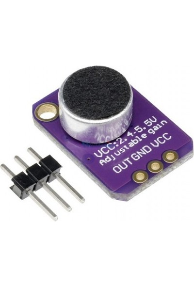 Bakay MAX4466 Electret Mikrofon Modülü