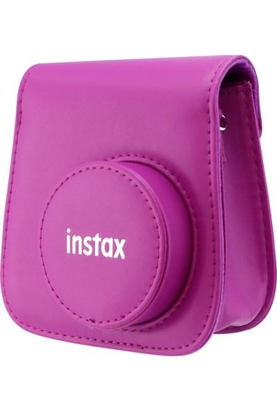 Instax Mini 9 Mor Deri Çanta