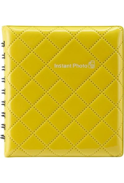 Instax Mini Sarı Kare Albüm