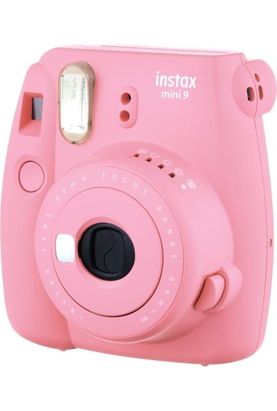 Instax Mini 9 Açık Pembe Fotoğraf Makinesi + Çanta 5