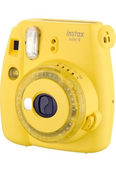 Instax Mini 9 Sarı Fotoğraf Makinesi + Çanta 5