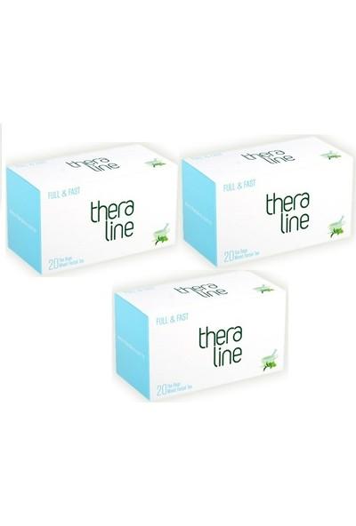 Theraline Full & Fast (Tok Tutucu Özellikte) Bitki Çayı (3 Kutu) + Giftpoint Ayaklı Buzdolabı Magnetli Resim Çerçevesi ( 1 Adet )