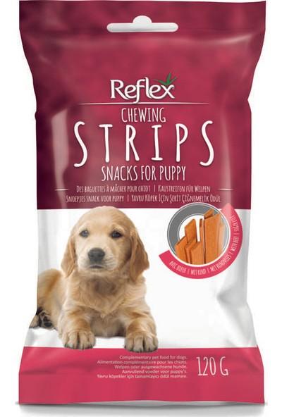 Reflex Şerit Yavru Köpek İçin Çiğnemelik Ödül Maması 120 g