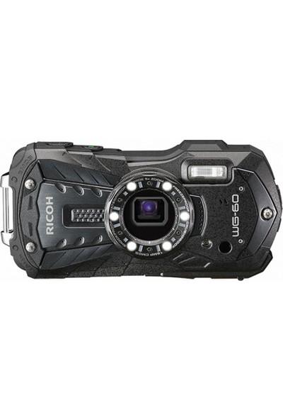 Ricoh WG-60 Dijital Kompakt Fotoğraf Makinesi Siyah