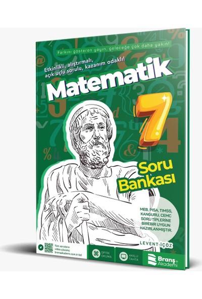 Branş Akademi 7. Sınıf Matematik Soru Bankası - Levent İçöz