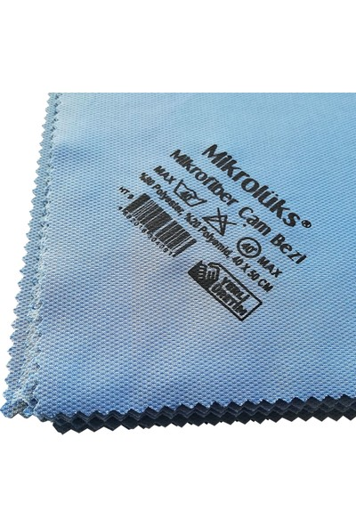 Microlüks Mikrofiber Cam Bezi - 25'li Paket