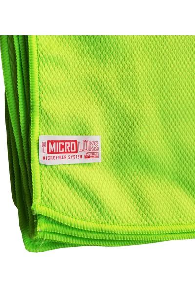 Microlüks Hamarat Çok Amaçlı Mikrofiber Temizlik Bezi - 20'li Paket