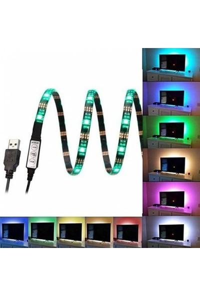 Triline Tv Arkası Uzaktan Kumandalı Rgb LED Şerit Aydınlatma Seti 5 M