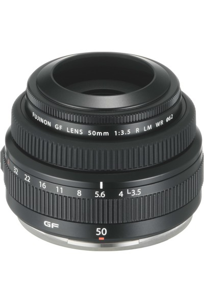 Fujifilm Fujinon Gf 50 mm F3.5 R Lm Wr Orta Format Lens