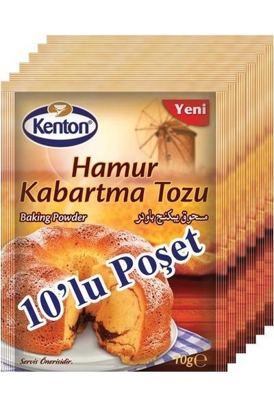 Kenton Hamur Kabartma Tozu 10 gr 10 Lu Paket