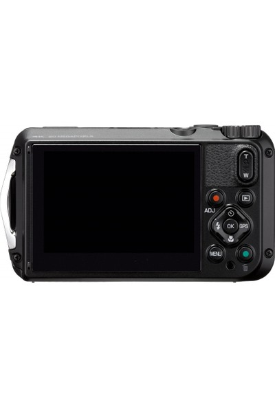 Ricoh Wg-6 Dijital Kompakt Outdoor Fotoğraf Makinesi Siyah
