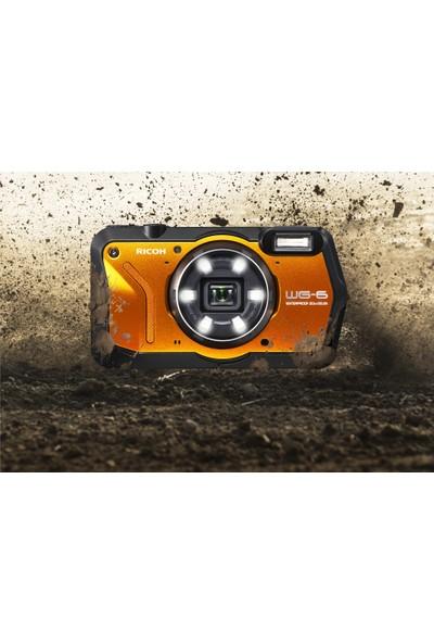Ricoh Wg-6 Dijital Kompakt Outdoor Fotoğraf Makinesi Turuncu