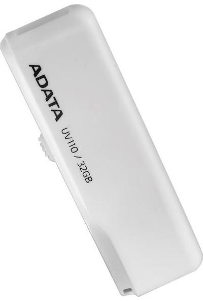 Adata UV110 32GB USB 2.0 Bellek - Beyaz