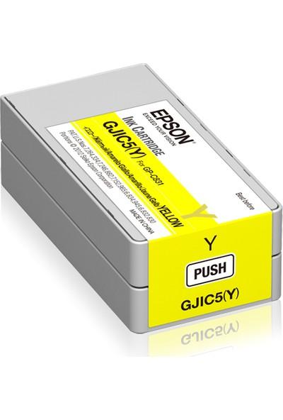 Epson GP-C831 GJIC5(Y) Yellow Kartuş