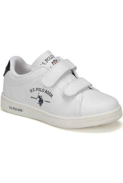 U.S. Polo Assn. Sıng 9Pr Beyaz Erkek Çocuk Ayakkabı