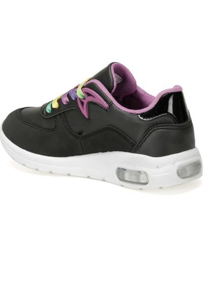 Cool Siyah Kız Çocuk Günlük Spor Ayakkabı