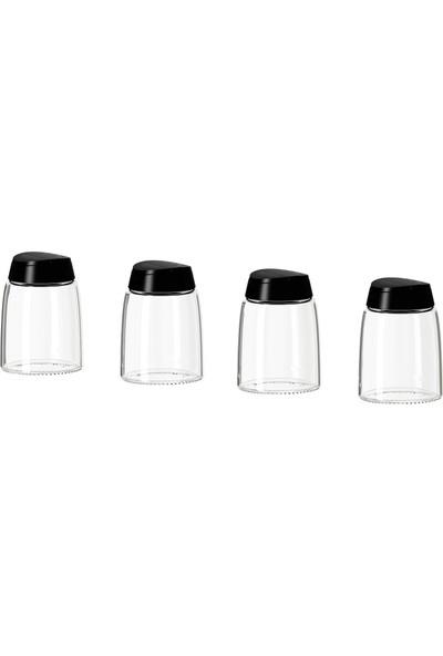 IKEA 365+ Ihardıg 15 cl Baharat Kavanozu Cam-Siyah 20152870
